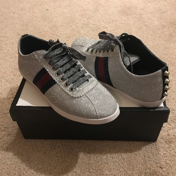 4aa01d9bba6 Gucci Other - Men s Gucci Glitter Web Sneakers